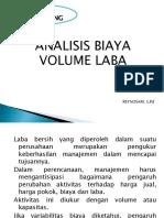 Analisis Biaya Volume Laba