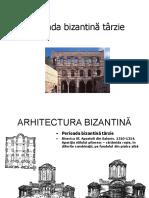 3. Perioada Bizantină Târzie