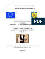 Auxiliar Curricular-Activitatea de Servire in Restauratie