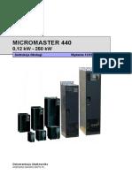Micromaster 440 Siemens