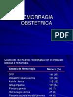 Hemorragia Obstetrica. Dpp