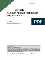 Ari Fadli - Tutorial Flash_Membuat Aplikasi Perhitungan Dengan Flash 8
