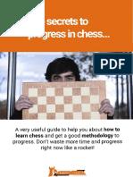 Chueca - The Secrets to Progress in Chess