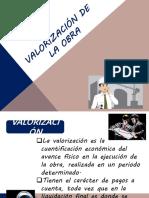 12va Clase Valorización de Obra