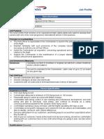 Job Description - Direct Entry Pilot