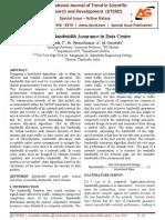 Effective Bandwidth Assurance in Data Center