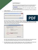 Cara Instalasi Xampp Pada OS Windows 7