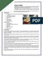 Croque Cake de Berenjenas y Ternera