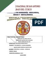 Procesamiento extractivos 2 Informe