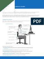 Guía de Un Empleado Para Una Computación Saludable - Ergonomía