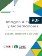 Imagen positiva de Alcaldes y Gobernadores Diciembre 5-12-2018