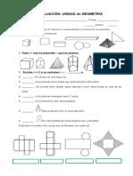 EVALUACIÓN geometria