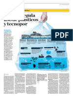 El Perú Regula Uso de Plásticos y Tecnopor