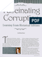 Fascinating Corruption From Learning History