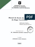 Manual  de Diseño de Sistemas de Riego.pdf