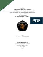Cover Tugas Metodologi Penelitian Non Positivisme