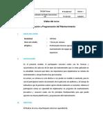 Planificación y Programación Del Mantenimiento_sílabo