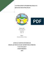 Laporan Tugas Praktikum Pemrogramman II