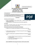 Assignment - BPM - Self Study