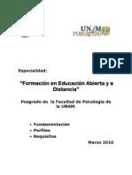 Elementos de Fundamentacion y Perfiles Eead Revision 2