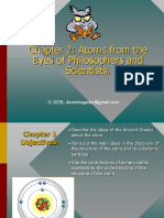 Chapter 2- Physci - Atoms in the Eyes of Philosophers and Scientists