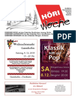 Höriwoche KW49