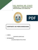 Contratos Merchandising