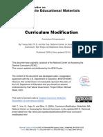 Ncac Curriculum Modification 2014 12