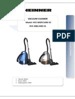 Heinner HVC-MGRY1400-V2