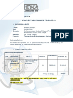 PPTO 803-05-18 Fabricacion de Brida Shell
