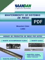 Mantenimiento de Sistemas de Riego Menachem5.04