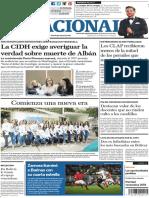 El Nacional 6 Diciembre 2018