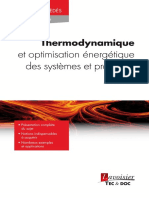 Thermodynamique Et Optimisation Energetique Chapitre11