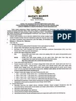 Pengumuman Jadwal Pelaksanaan Seleksi Kompetensi Dasar (Skd) Penyelenggaraan Pen