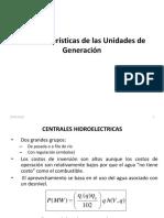 1.1 Características Unidades Generación