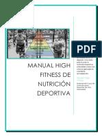 MANUAL NUTRICIÓN DEPORTIVA HIGH FITNESS (actualizado)