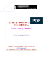 eBook Ao Thuat Doan Suy Nghi Khan Gia Ao Thuat Gia Lam Nha Tien Tri