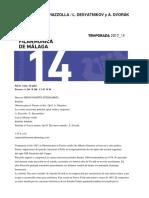 p14 a Ginastera Br a Piazzolla l Desyatnikov Br y a Dvorak