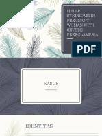 HELLP SYNDROME IN PREGNANT WOMAN WITH SEVERE PREECLAMPSIA (preskas).pptx