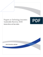 Electrical Sustainability 2050