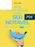 eBook BRUNOAVILA as 8 Estrategias Para Ser Notavel v3