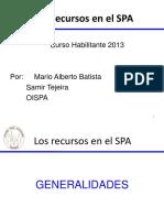 Los Recursos en El CPP Panameño