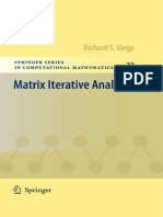 (Springer Series in Computational Mathematics 27) Richard S. Varga (Auth.)-Matrix Iterative Analysis -Springer-Verlag Berlin Heidelberg (2000)
