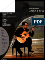 Poster - Concerto Celso Faria