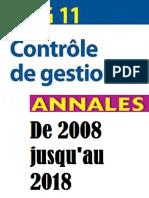 DCG 11 Annales de 2008 Jusqu'Au 2018 (1)