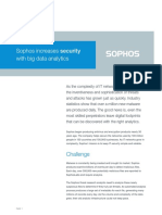 Sophos Increases Security With Big Data Analytics