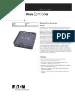 Wireless Area Controller Spec Sheet