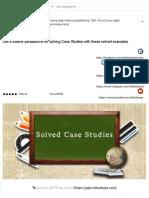 Case study Control