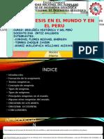Orogenesis en El Peru y El Mundo