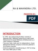 Mahindra company